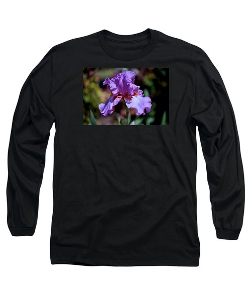 Spring Iris Bloom Long Sleeve T-Shirt