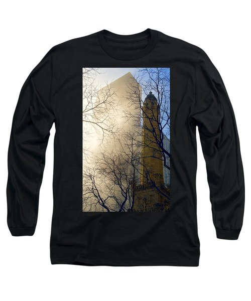 Long Sleeve T-Shirt featuring the photograph Springtime In Chicago by Steven Sparks