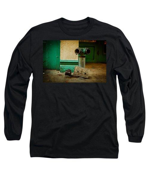 Sprinkler Green Long Sleeve T-Shirt