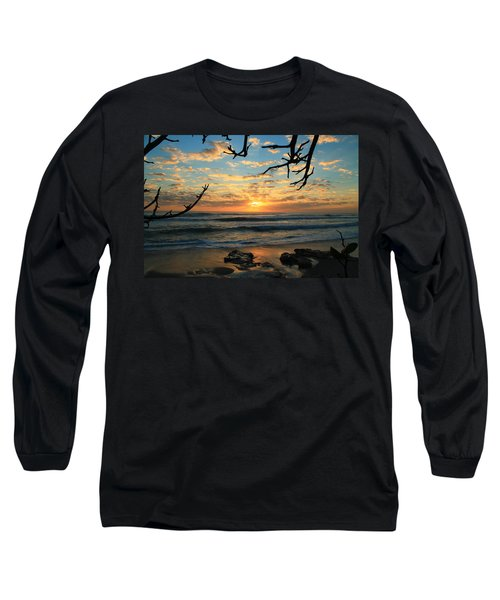 Spying At The Sun Long Sleeve T-Shirt by Catie Canetti