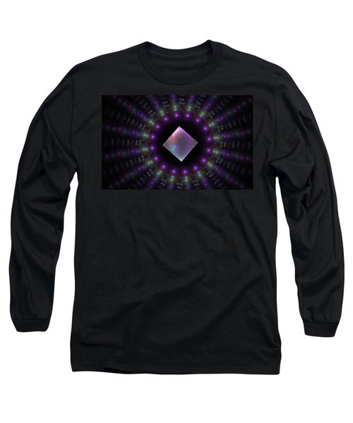 Square Peg Round Hole Long Sleeve T-Shirt by GJ Blackman