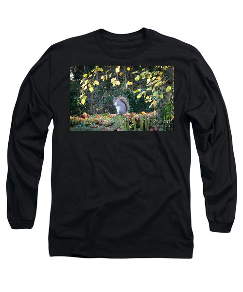 Squirrel Perched Long Sleeve T-Shirt