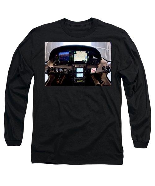 Sr22 Cockpit Long Sleeve T-Shirt