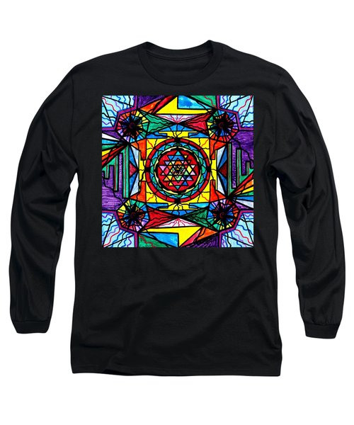 Sri Yantra Long Sleeve T-Shirt