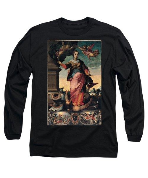 St Catherine Of Alexandria, 1570 - 1611 Long Sleeve T-Shirt