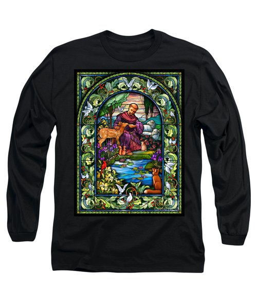 St. Francis Of Assisi Long Sleeve T-Shirt