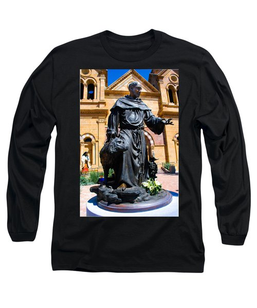 St Francis Of Assisi - Santa Fe Long Sleeve T-Shirt