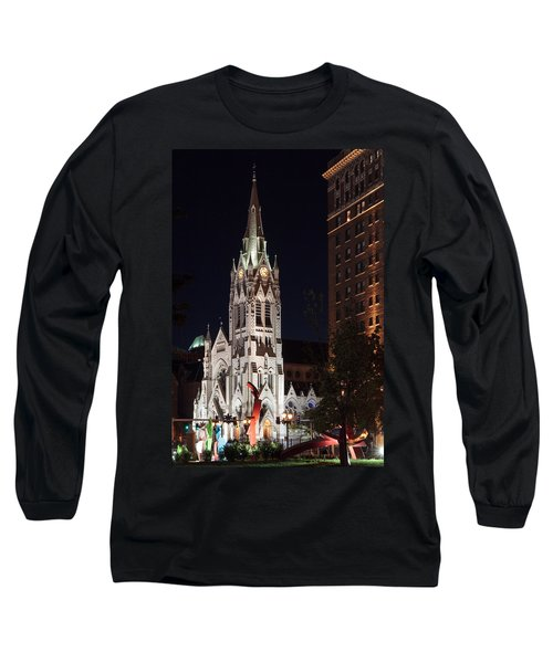 St. Francis Xavier Church Long Sleeve T-Shirt