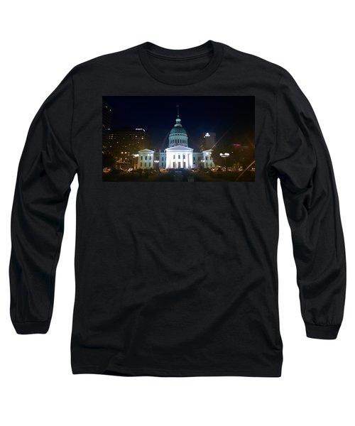 St. Louis At Night Long Sleeve T-Shirt