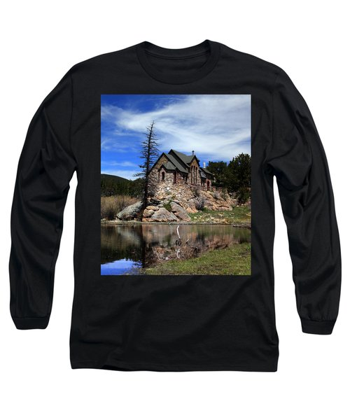 St. Malo Chapel Long Sleeve T-Shirt