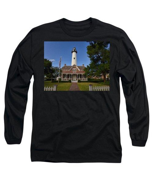 St. Simons Light Long Sleeve T-Shirt