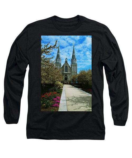 St Thomas Of Villanova Long Sleeve T-Shirt