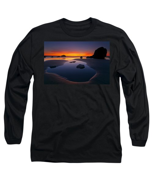 Long Sleeve T-Shirt featuring the photograph Stacks And Stones by Mike  Dawson