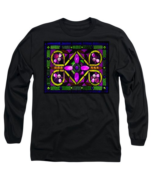 Stained Glass 3 Long Sleeve T-Shirt