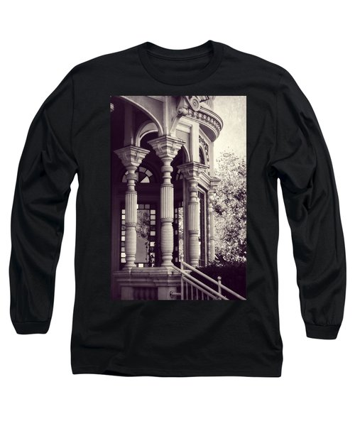 Stained Glass Memories Long Sleeve T-Shirt by Melanie Lankford Photography