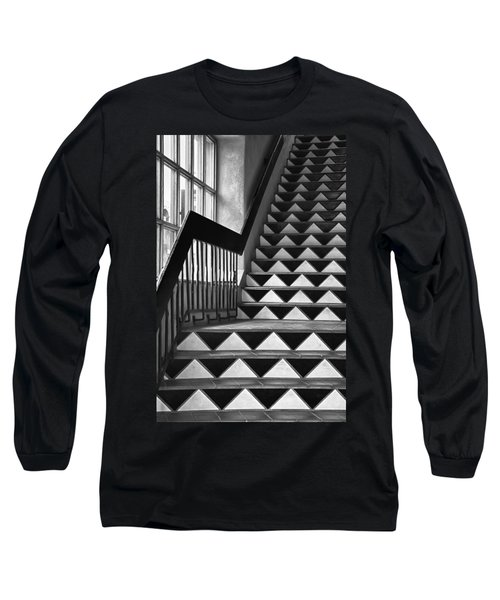 Long Sleeve T-Shirt featuring the photograph Staircase Santa Fe New Mexico by Ron White