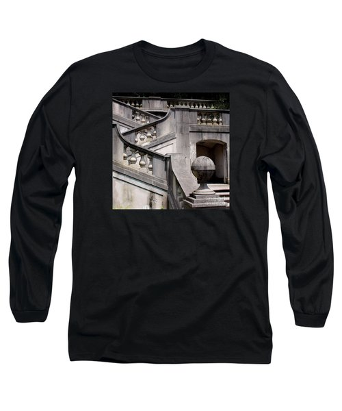 Stairway At Winterthur Long Sleeve T-Shirt