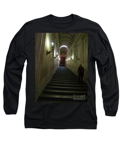 Stairway  Long Sleeve T-Shirt by Robin Maria Pedrero