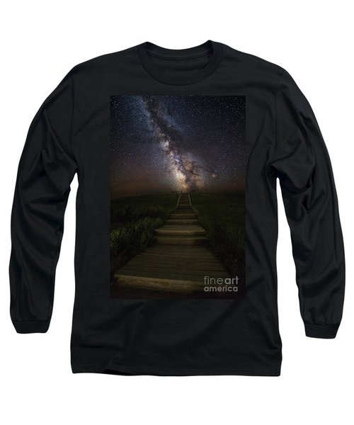 Stairway To The Galaxy Long Sleeve T-Shirt