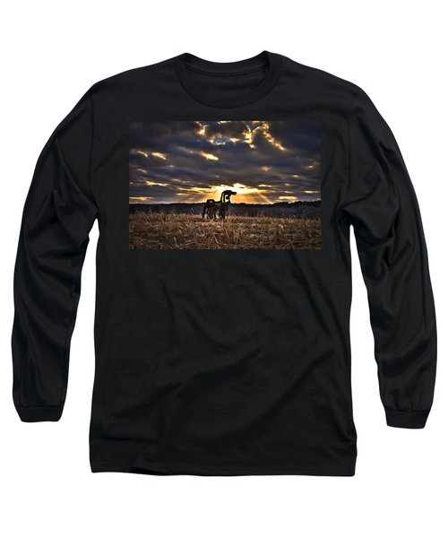Stairways To Heaven The Iron Horse Long Sleeve T-Shirt