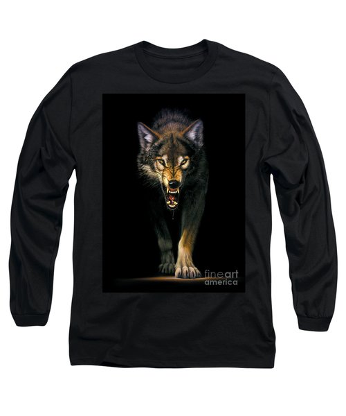 Stalking Wolf Long Sleeve T-Shirt