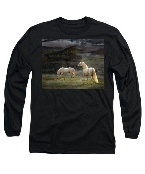 Stallions Of The Gods Long Sleeve T-Shirt