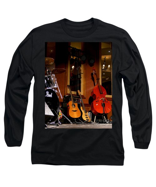 Long Sleeve T-Shirt featuring the photograph Stand By by Nina Ficur Feenan