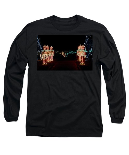 Standing Guard Long Sleeve T-Shirt by Rodney Lee Williams
