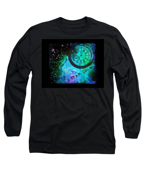 Star Child - Time To Go Home Long Sleeve T-Shirt