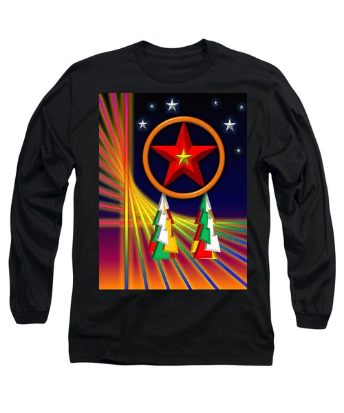 Star Long Sleeve T-Shirt by Cyril Maza