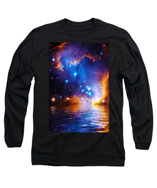 Stars As Diamonds Long Sleeve T-Shirt by Chuck Mountain