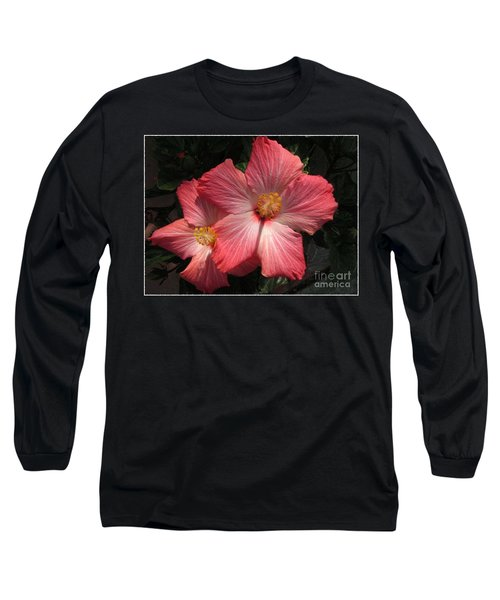 Star Flower Long Sleeve T-Shirt by Barbara Griffin