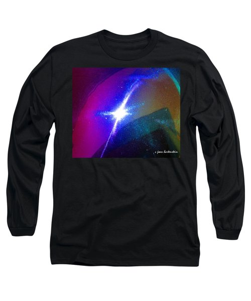 Star Long Sleeve T-Shirt by Joan Hartenstein