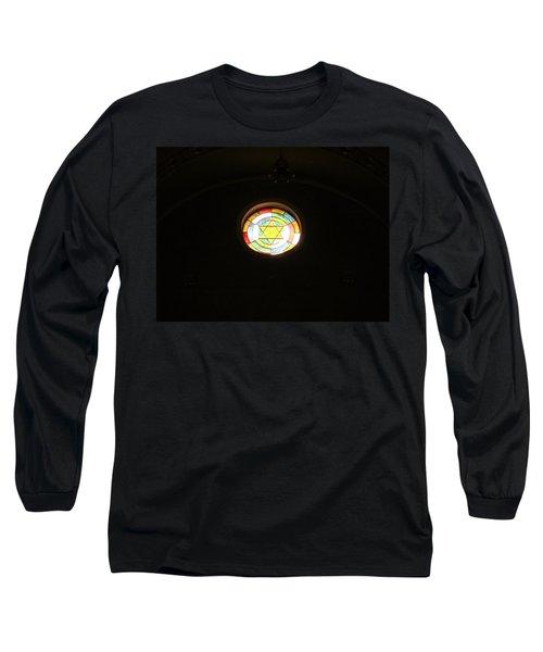 Star Of David Long Sleeve T-Shirt