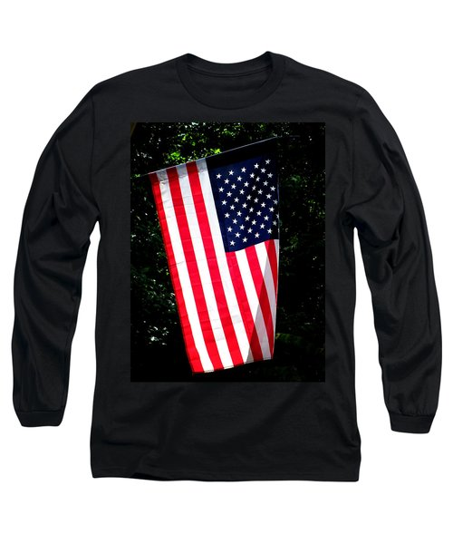Star Spangled Banner Long Sleeve T-Shirt by Greg Simmons