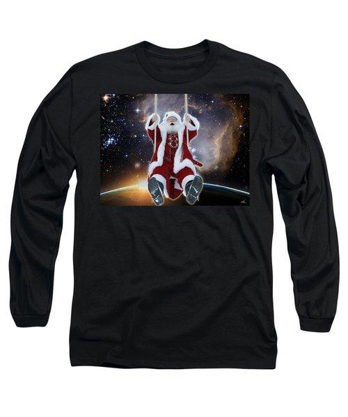 Santa's Star Swing Long Sleeve T-Shirt