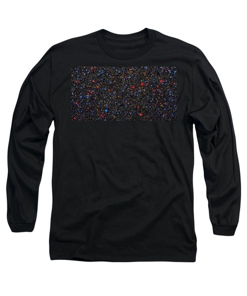 Star Wall Long Sleeve T-Shirt by Jennifer Rondinelli Reilly - Fine Art Photography
