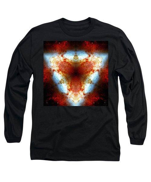 Starburst Galaxy M82 Vi Long Sleeve T-Shirt