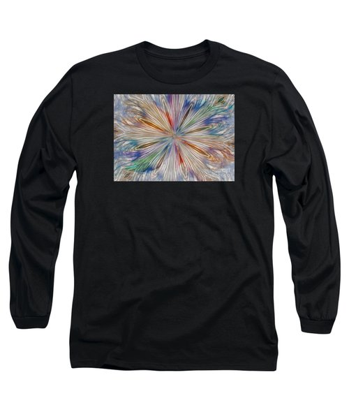 Long Sleeve T-Shirt featuring the photograph Starburst by Geraldine DeBoer