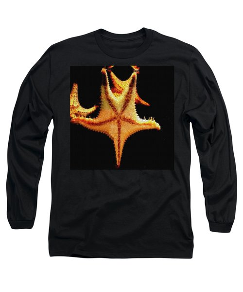 Long Sleeve T-Shirt featuring the photograph Starfish In Mosaic by Janette Boyd