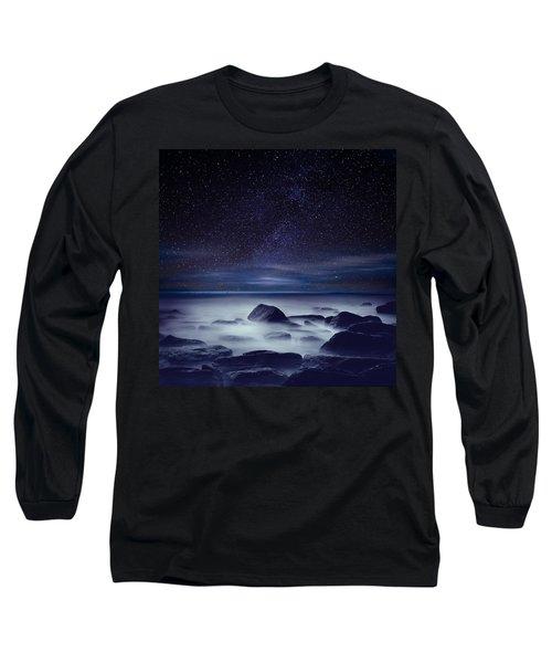 Starry Night Long Sleeve T-Shirt by Jorge Maia