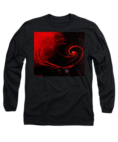 Stars Locked In Immortal Embrace Long Sleeve T-Shirt