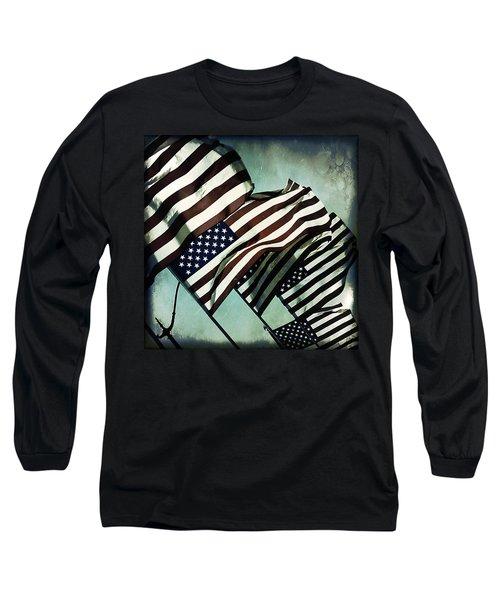 Stars N  Stripes Long Sleeve T-Shirt
