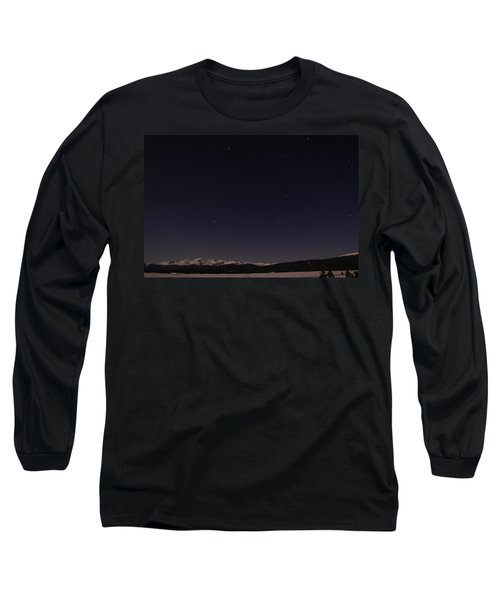 Stars Over Sawatch Long Sleeve T-Shirt by Jeremy Rhoades