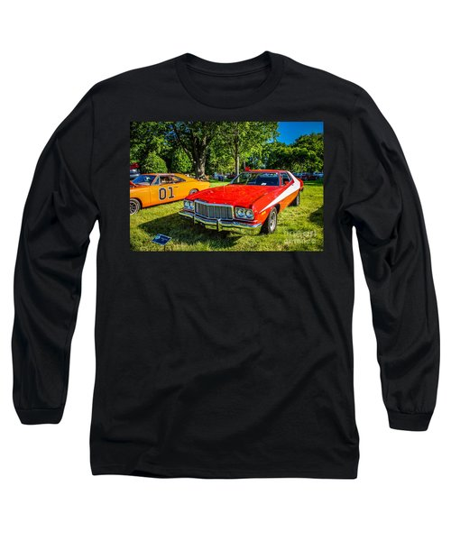 Starsky And Hutch Ford Gran Torino Long Sleeve T-Shirt