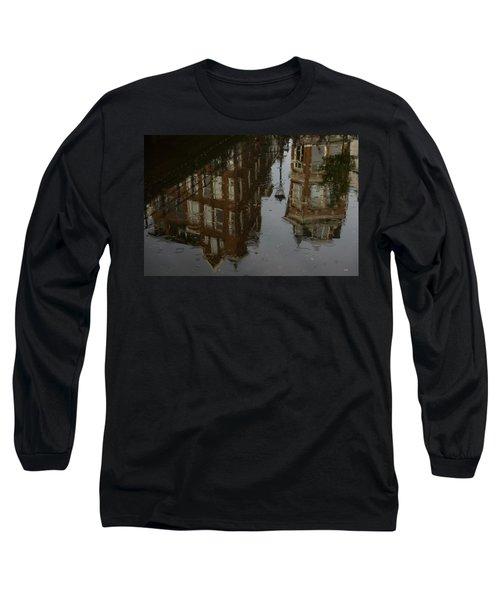 Long Sleeve T-Shirt featuring the photograph Starting To Rain... by Georgia Mizuleva