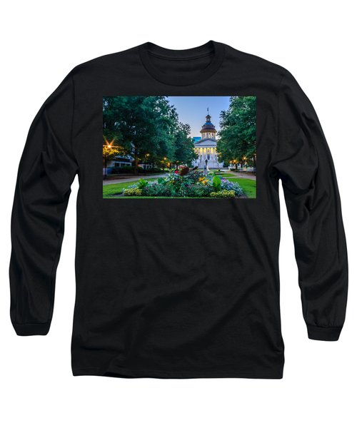 State House Garden Long Sleeve T-Shirt by Rob Sellers