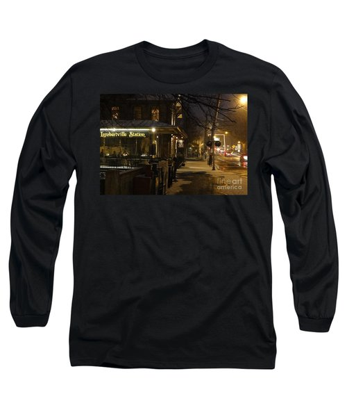 Station In Snow Long Sleeve T-Shirt