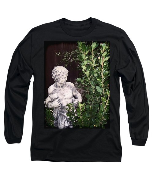 Long Sleeve T-Shirt featuring the photograph Statue 1 by Pamela Cooper
