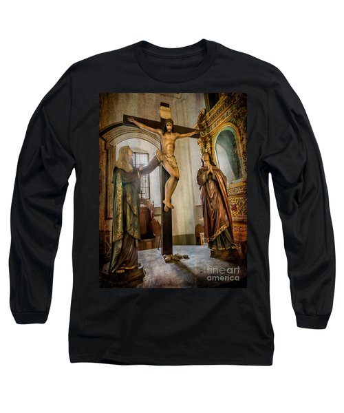 Statue Of Jesus Long Sleeve T-Shirt